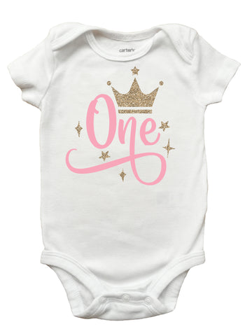 Princess Birthday Shirt, Numbered Birthday Shirt for Girls, Personalized Princess Shirt Ages One to Ten