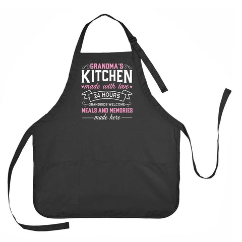 Grandma's Kitchen Apron, Mother's Day Grandma Apron, Grandmother Mother's Day Gift