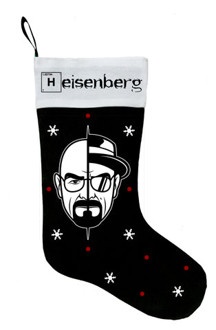 Heisenberg Christmas Stocking, Breaking Bad Christmas Stocking, Breaking Bad Stocking, Heisenberg Stocking