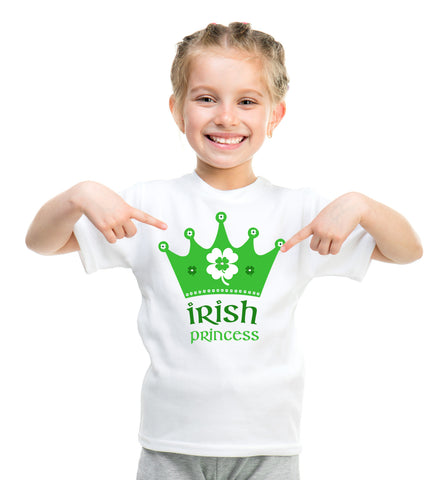 Irish Princess Children's T-Shirt or Baby Romper, St. Patricks Day Shirt for Kids