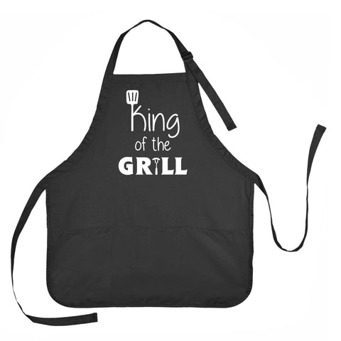 King of the Grill Apron, King of the Grill Cooking Apron, King of the Grill Gift, King of the Grill Present
