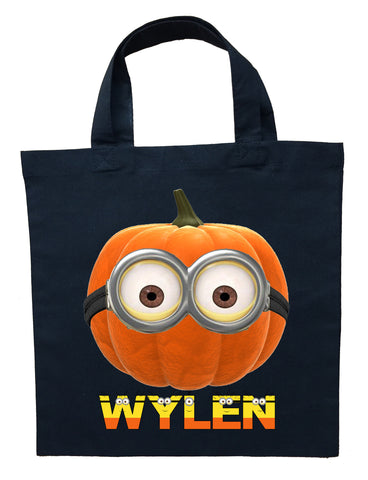 Minion Trick or Treat Bag - Personalized Minion Halloween Bag