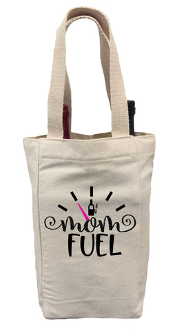 Mother's Day Wine Gift Bag, Mom Fuel Gift Bag