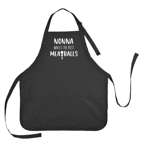 Nonna Makes the Best Meatballs Apron, Nonna Meatball Apron, Meatball Apron for Nonna, Meatball Apron