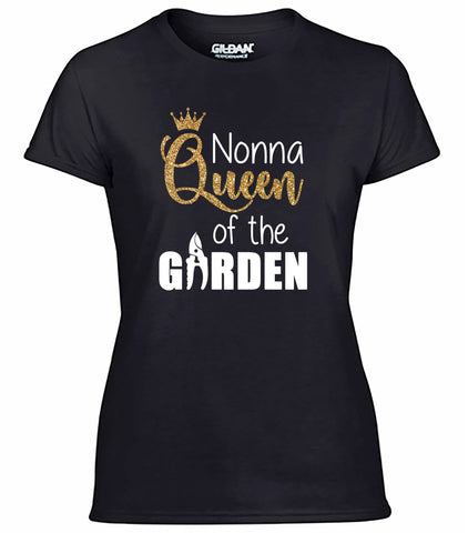 Nonna Queen of the Garden Shirt, Gardening Shirt for Nonna, Queen of the Garden Gift, Gardening Gift for Nonna