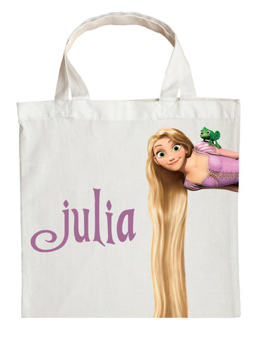 Rapunzel Trick or Treat Bag - Personalized Rapunzel Halloween Bag
