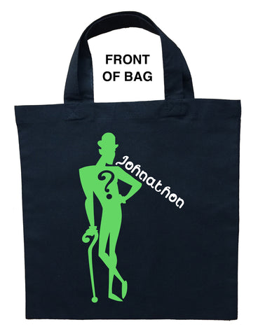Riddler Trick or Treat Bag - Personalized Riddler Halloween Bag