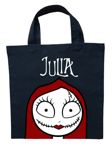 The Nightmare Before Christmas Sally Trick or Treat Bag - Personalized Sally Halloween Bag