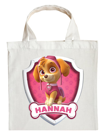 Paw Patrol Skye Trick or Treat Bag - Personalized Skye Halloween Bag