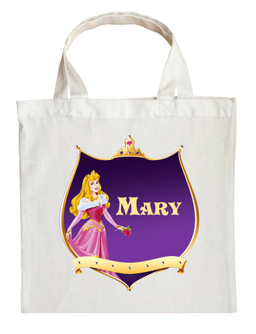 Sleeping Beauty Trick or Treat Bag - Personalized Princess Aurora Halloween Bag