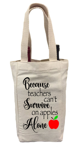 Wine Gift Bag for Teachers, Gift for Teacher