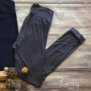 Custom Fit Organic Cotton Leggings