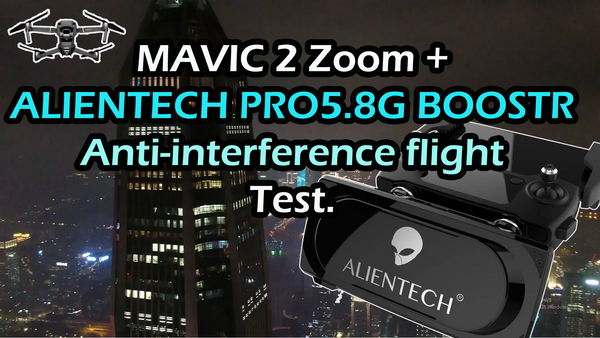 ALIETNTECH PRO5.8G antenna signal booster lange expender with Mavic 2 zoom
