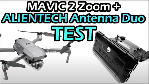 DJI Mavic 2 + ALIENTECH DUO antenna test over 5Km