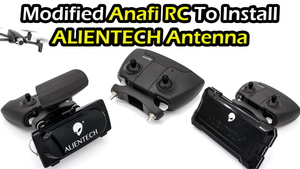 Modified Anafi Controller To Install ALIENTECH Antenna
