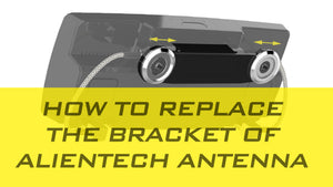 How to replace the new bracket & Cabels for ALIENTECH Pro Duo antenna booster.
