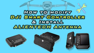 How to modify antenna of the DJI smart controller?