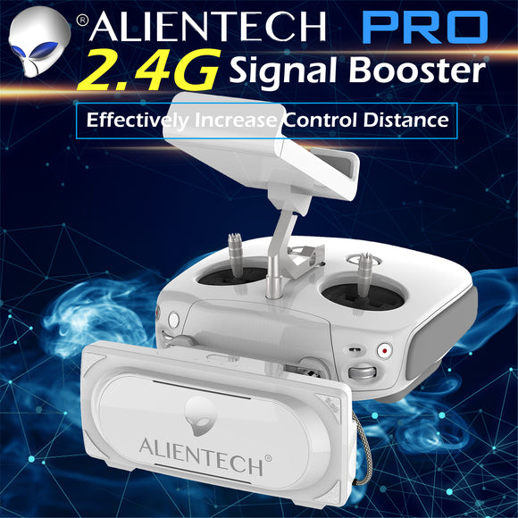 ALIENTECH PRO 2.4G Amplifier Signal Booster with Antenna Range Extender for DJI Drones