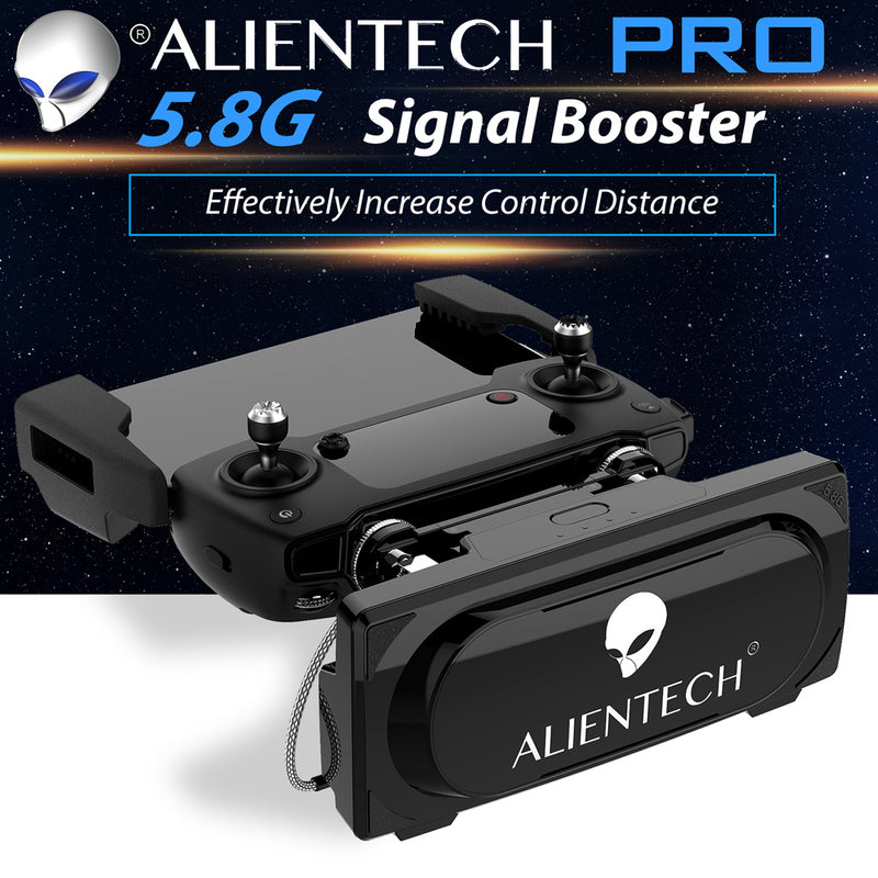 ALIENTECH PRO 5.8G Antenna Signal Booster Range Extender whit amplifier for DJI mavic MINI Drones - ALIENTECH