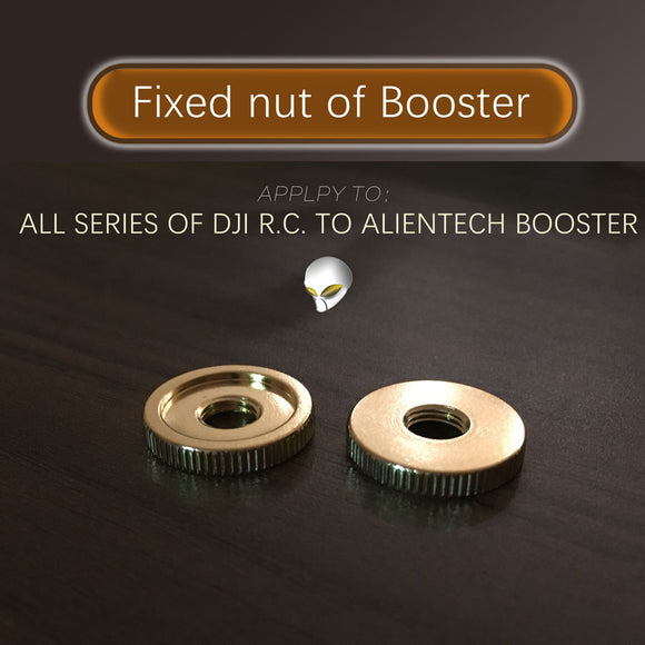ALIENTECH PLUS Fixed nut of Booster for DJI all series of drone Remote control. - ALIENTECH