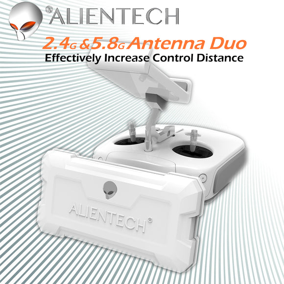 ALIENTECH DUO Antenna range extender for DJI Spark/Mavic Mini Air Pro 2 /Phantom/Inspire Drones