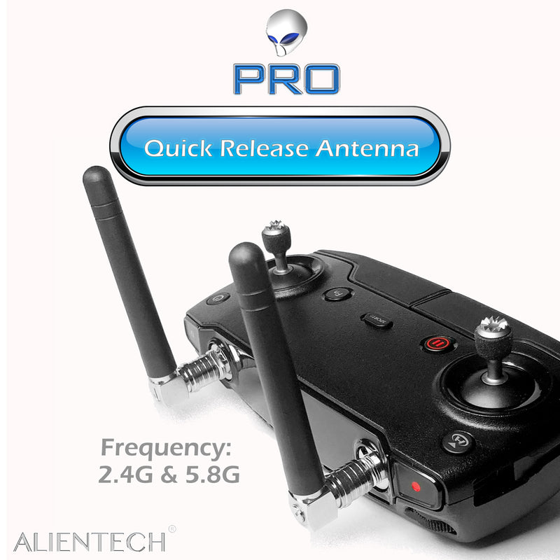 ALIENTECH 2.4G&5.8G Dual frequency antenna of omnidirectional with quick release  for DJI drones - ALIENTECH