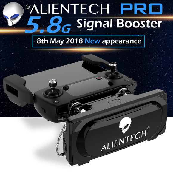 ALIENTECH PRO 5.8G Antenna Booster Range Extender for DJI mavic 2 air phantom 4pro inspire 2 m210