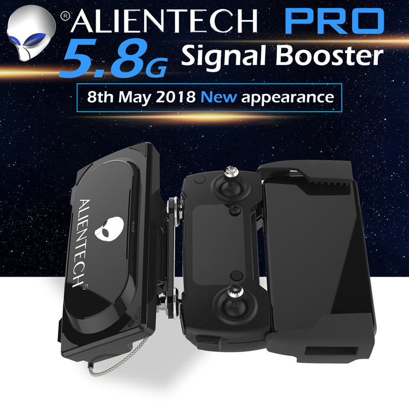 ALIENTECH PRO 5.8G Signal Booster With Antennas Range Extender for DJI Drones - ALIENTECH