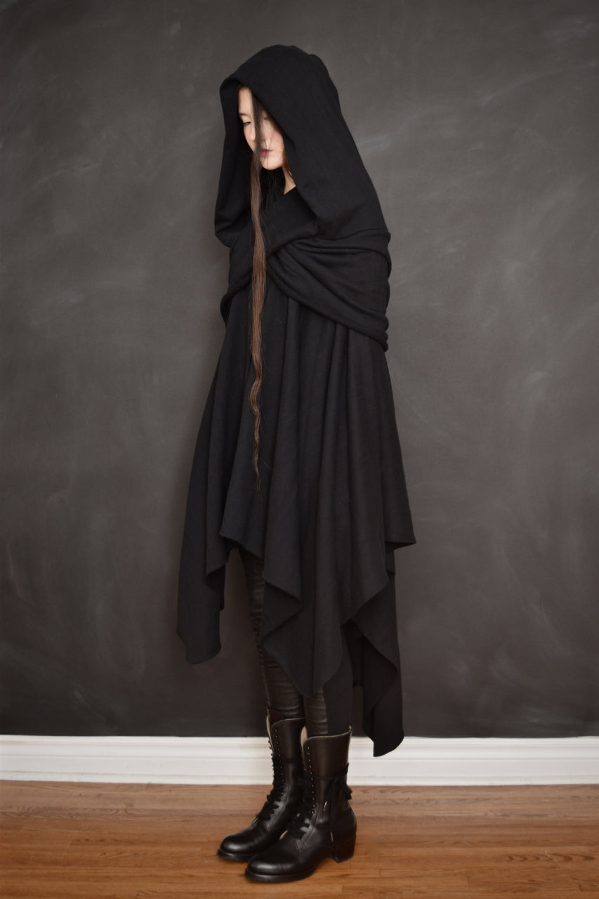 Archive: Mythic Cape in Herringbone Cotton