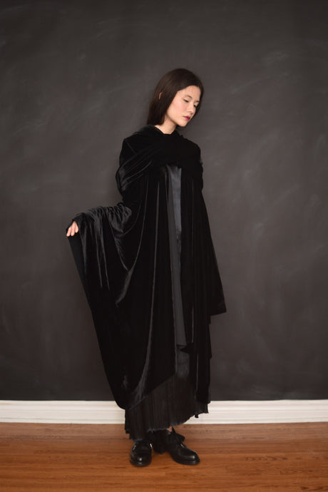 Archive 2021: Mythic Cape in Antique Velvet