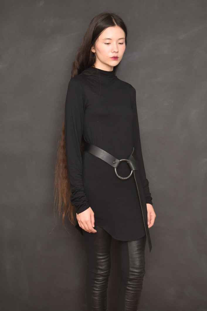 Archive: High Collar Longsleeve in Black