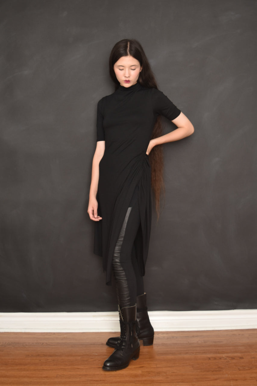 FW18 Midi Tunic w/ Adjustable Drawstring