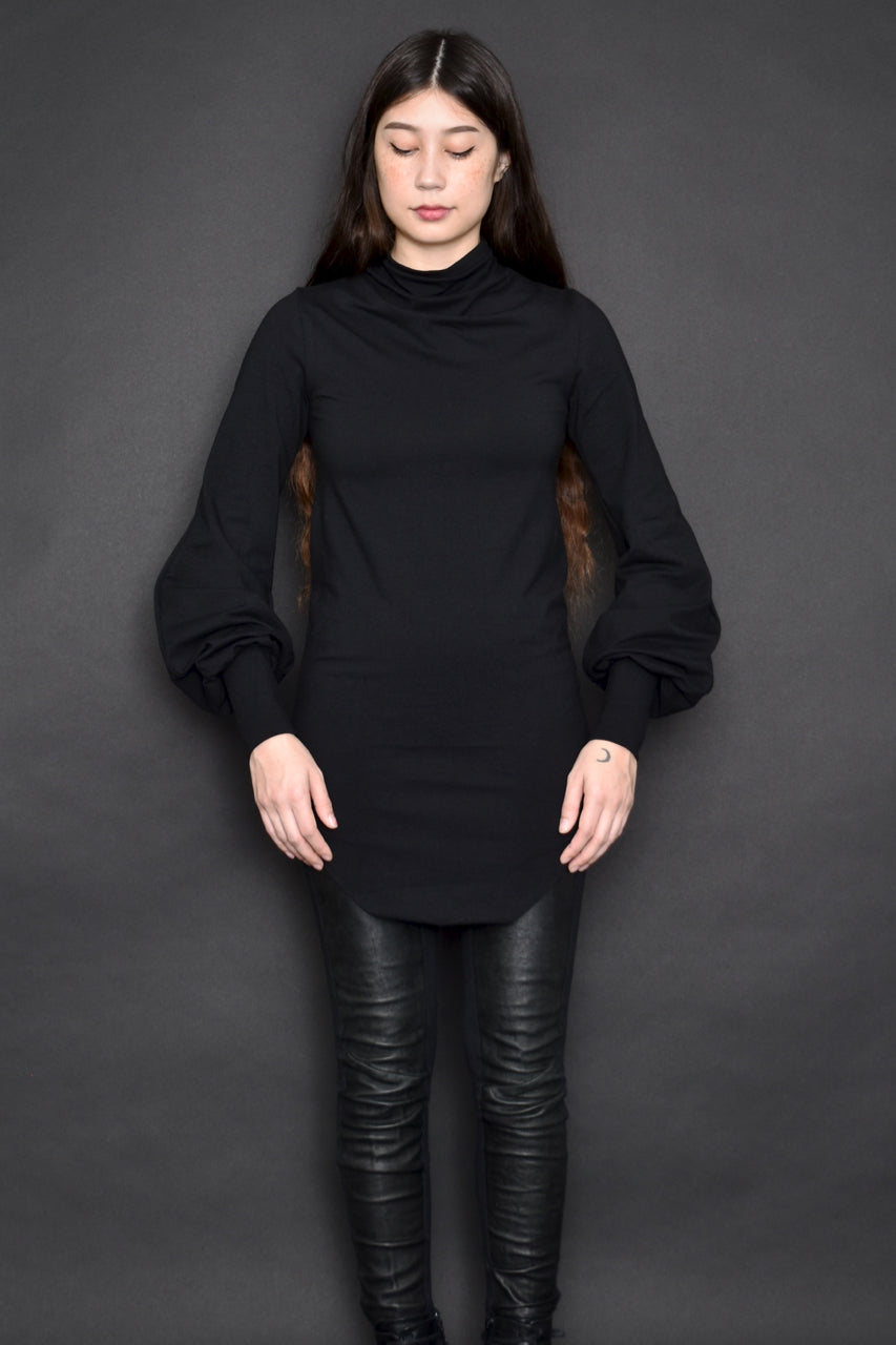 FW19: Hourglass Longsleeve Tunic in Black