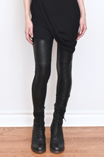 FW19: Leather Panel Leggings