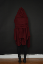 Capsule FW19: Mythic Cape in Oxblood Boiled Wool (Limited Edition)
