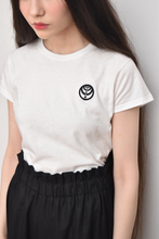 Logo Signature Crew Neck T-Shirt (White)