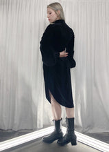 Archive 2021: Velvet Drawstring Tunic w/Bishop Sleeves