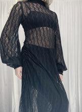Archive: Bishop Sleeve Maxi Dress in Foliage Lace