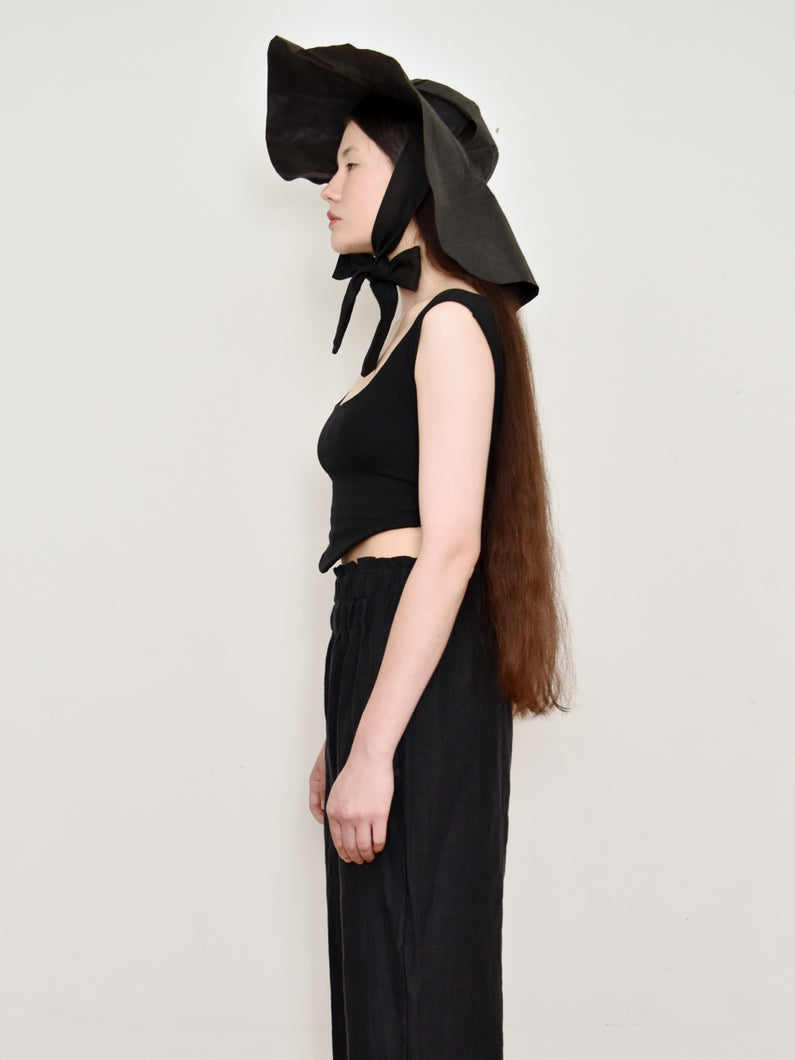 High Summer Capsule: Cathedral Wide Brim Hat in Washable Paper