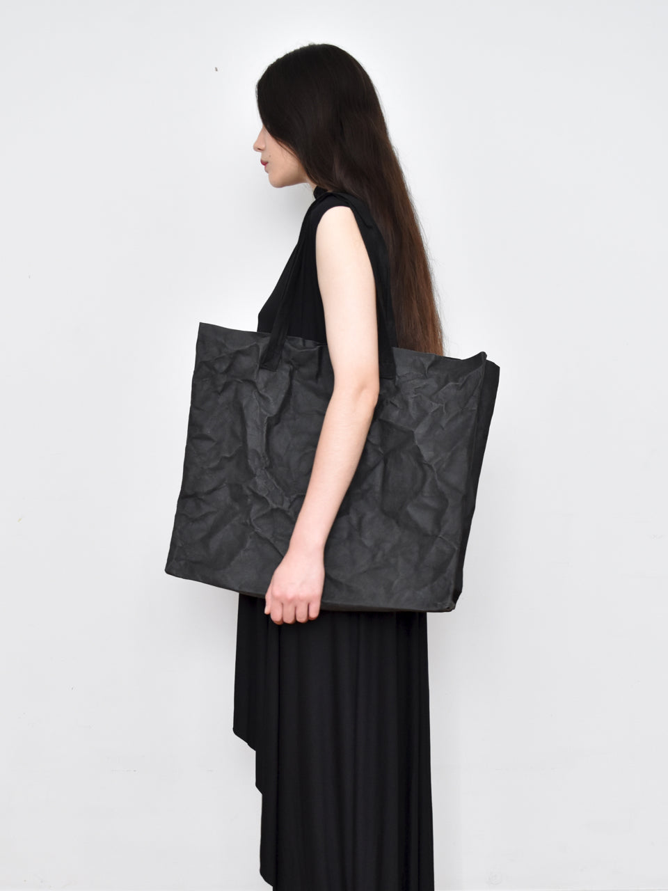 High Summer Capsule: Oversized Tote Bag in Washable Paper