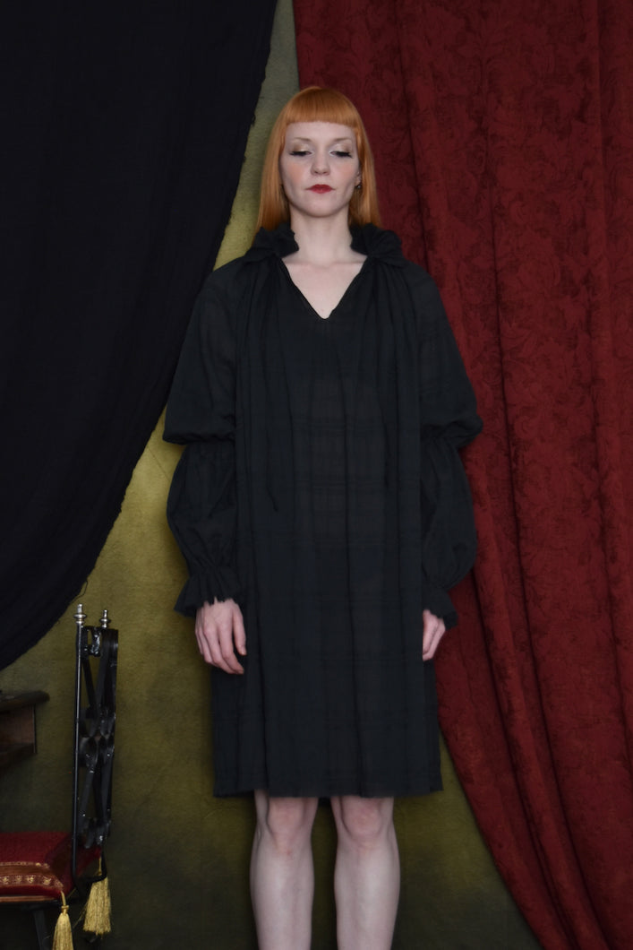 FW 2020: Lantern Sleeve Shirtdress in Cotton Voile (Limited Edition)