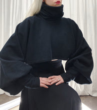 Winter 2019: High Collar Pullover w/Bishop Sleeves