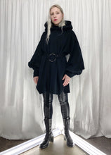 Bishop Sleeve Hooded Tunic