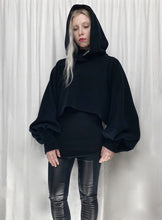 Sample Sale 2021: Bishop Sleeve Cropped Hoodie (One Size)