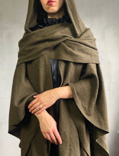 FW 2020: Mythic Cape in Oakmoss Boiled Wool (Limited Edition)