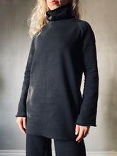 Winter 2020: Crinkle Cotton Tunic w/High Collar (Limited Edition)