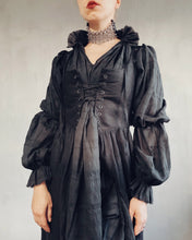 Restock 2021: Lantern Sleeve Shirtdress in Cotton Voile (Limited Edition)
