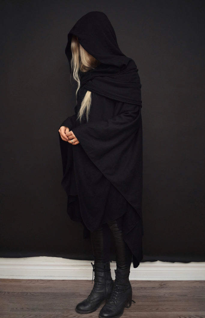 Capsule FW19: Mythic Cape in Bamboo Fleece