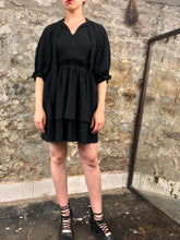 Summer 2020: Rosemary Babydoll Dress in Black Cotton