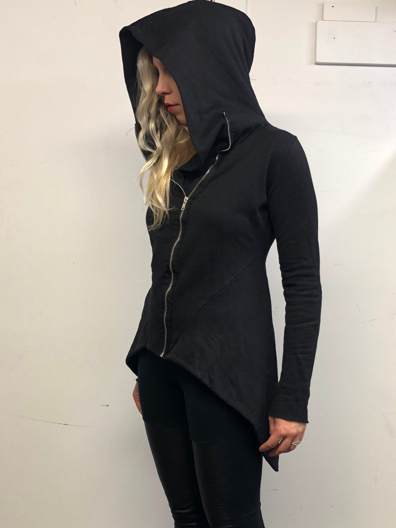 Sample Sale: Structured Zip Hoodie (S)